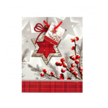 Karácsonyi tasak (18x23 cm)
