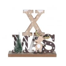 X-mas, rénszarvasos dekoráció