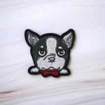 Felvasalható matrica-kutya