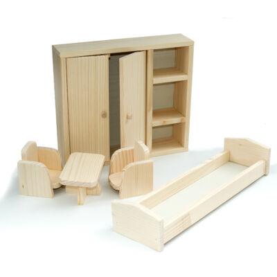 Fa hálószoba bútor