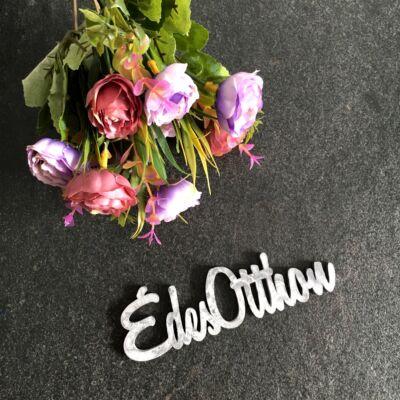 Édes otthon+lila virág