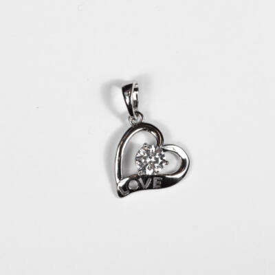 Szív-love medál