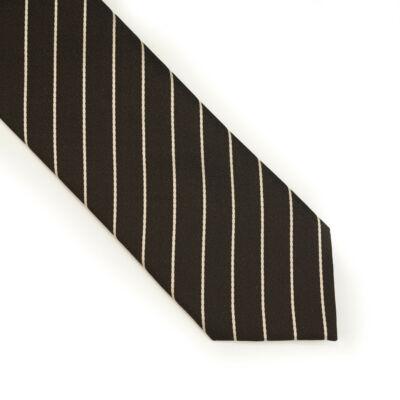 Vékony csíkos nyakkendő