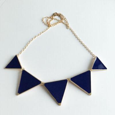 Háromszög Bizsu nyaklánc